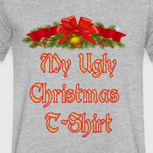 My Ugly Christmas T-shirt - Men's V-Neck T-Shirt by Canvas