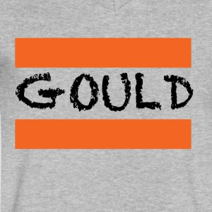 Gould T-Shirt - Men's V-Neck T-Shirt by Canvas