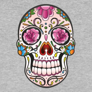 Mexican sugar skull - Men's V-Neck T-Shirt by Canvas