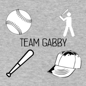 Team Gabby - Men's V-Neck T-Shirt by Canvas