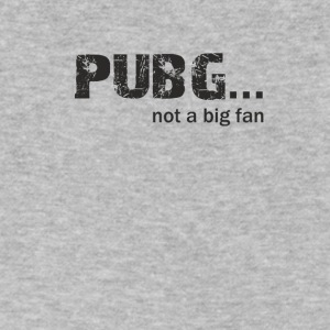 Pubg not a Big fan - Men's V-Neck T-Shirt by Canvas