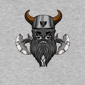 vikings viking thor ship - Men's V-Neck T-Shirt by Canvas