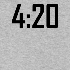 420 funny weed stoner marijuana cannabis - Men's V-Neck T-Shirt by Canvas
