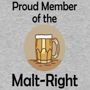 Proud Malt-Right - Men's V-Neck T-Shirt by Canvas