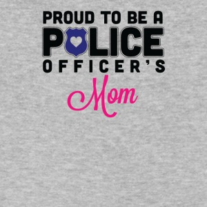 Proud Police Mom - Men's V-Neck T-Shirt by Canvas