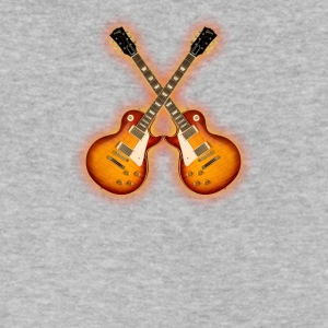 Electric Guitars - Men's V-Neck T-Shirt by Canvas