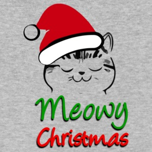Meowy Christmas - Men's V-Neck T-Shirt by Canvas