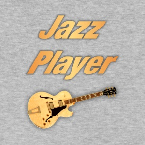 Jazz Player - Men's V-Neck T-Shirt by Canvas