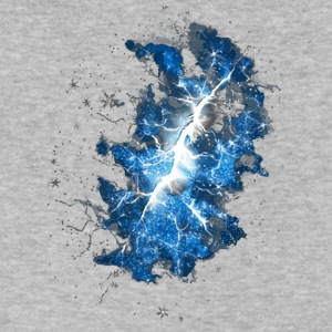 Cracked Universe - Men's V-Neck T-Shirt by Canvas