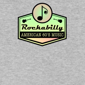 American Rockabilly 60' Music - Men's V-Neck T-Shirt by Canvas