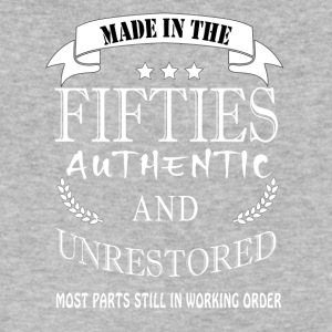 Made in the fifties authentic and unrestored - Men's V-Neck T-Shirt by Canvas