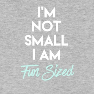 I'm Not Small I Am Fun Sized - Men's V-Neck T-Shirt by Canvas