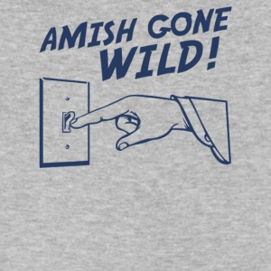 Amish Gone Wild - Men's V-Neck T-Shirt by Canvas