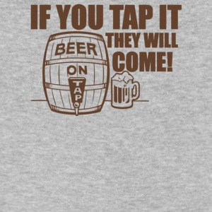 If You Tap It They Will Come - Men's V-Neck T-Shirt by Canvas