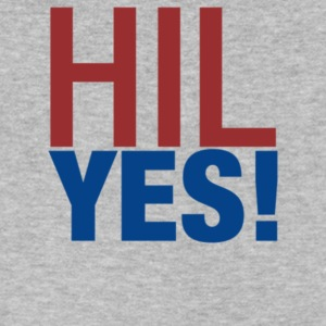 Hill Yes - Men's V-Neck T-Shirt by Canvas