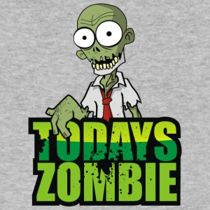 Todays Zombie - Men's V-Neck T-Shirt by Canvas