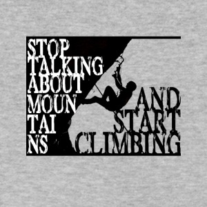 Start climbing - Men's V-Neck T-Shirt by Canvas