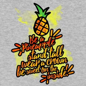 Be a Pineapple - Men's V-Neck T-Shirt by Canvas