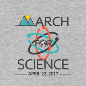 March for Science - Men's V-Neck T-Shirt by Canvas