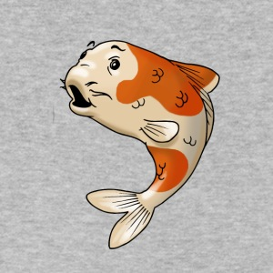 pisces fish goldfish koi - Men's V-Neck T-Shirt by Canvas