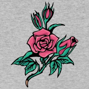 roses - Men's V-Neck T-Shirt by Canvas
