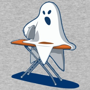 Ghost - Men's V-Neck T-Shirt by Canvas