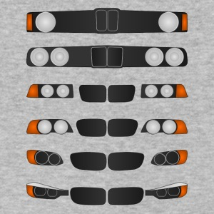 Evolution of BMW 3 series - Men's V-Neck T-Shirt by Canvas