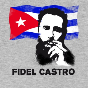 fidel castro dead revolution cuba - Men's V-Neck T-Shirt by Canvas