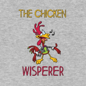 THE CHICKEN WISPERER - Men's V-Neck T-Shirt by Canvas