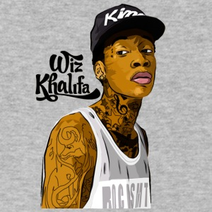 Wiz Khalifa - Men's V-Neck T-Shirt by Canvas