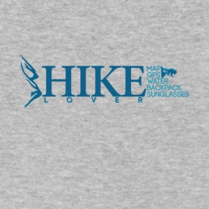 Hiking Lover T Shirt - Men's V-Neck T-Shirt by Canvas