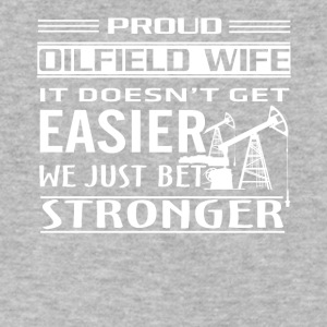 Oilfield Worker Tee Shirt - Men's V-Neck T-Shirt by Canvas