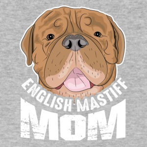 English Mastiff Mom Shirt - Men's V-Neck T-Shirt by Canvas