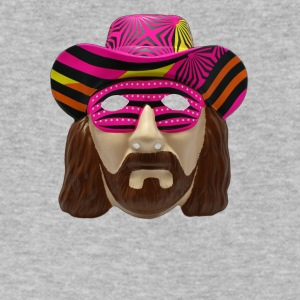 Macho Man Mask - Men's V-Neck T-Shirt by Canvas
