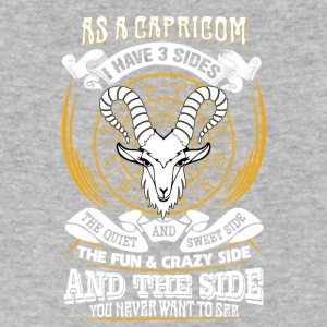 AS a capricorn I have 3 sides - Men's V-Neck T-Shirt by Canvas