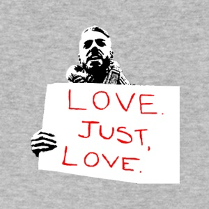 Just Love - Men's V-Neck T-Shirt by Canvas