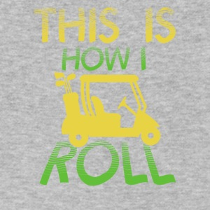 This is how I roll - Men's V-Neck T-Shirt by Canvas