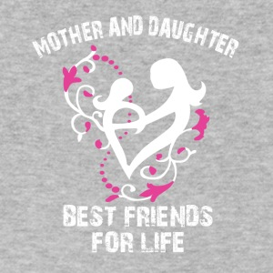 mother and daughter best friends for life - Men's V-Neck T-Shirt by Canvas