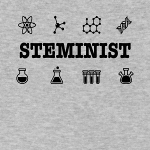 Steminist Science March Environmental Feminist Tee - Men's V-Neck T-Shirt by Canvas