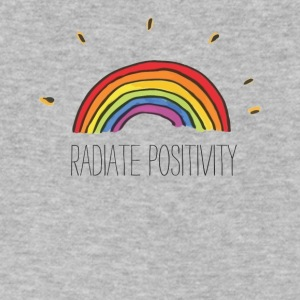 Radiate Positivity - Men's V-Neck T-Shirt by Canvas