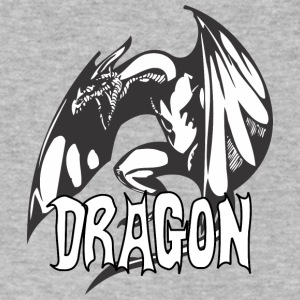 angry_dragon_2 - Men's V-Neck T-Shirt by Canvas
