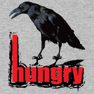 Hungry - Men's V-Neck T-Shirt by Canvas