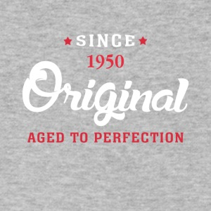 Since 1950 Original Aged To Perfection - Men's V-Neck T-Shirt by Canvas