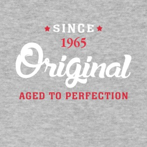 Since 1965 Original Aged To Perfection - Men's V-Neck T-Shirt by Canvas