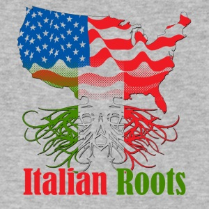 Italian roots - Men's V-Neck T-Shirt by Canvas