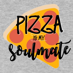 PIZZA SOULMATE - Men's V-Neck T-Shirt by Canvas