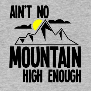 Ain't no mountain high enough - Men's V-Neck T-Shirt by Canvas