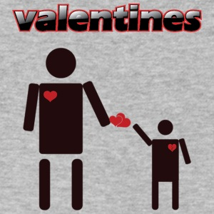 Valentines products an Tshirt design - Men's V-Neck T-Shirt by Canvas