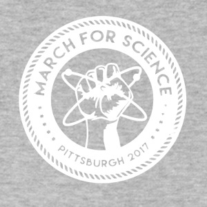 March for Science Pittsburgh Shirt - Men's V-Neck T-Shirt by Canvas