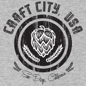 Craft City - Men's V-Neck T-Shirt by Canvas
